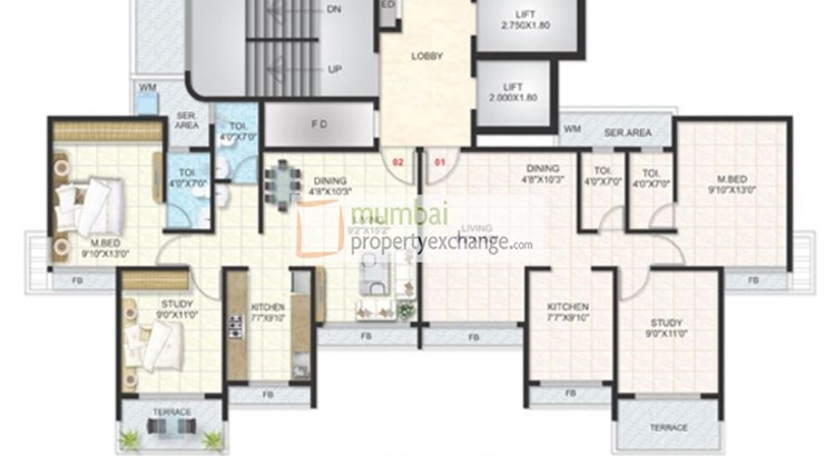 Chamunda Height Floor Plan