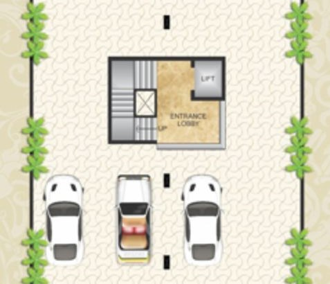 Chamunda Apartments Floor Plan