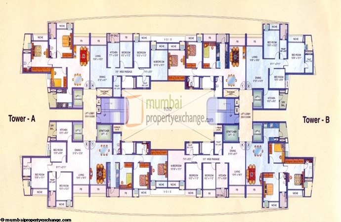 Evershine Crown Floor Plan