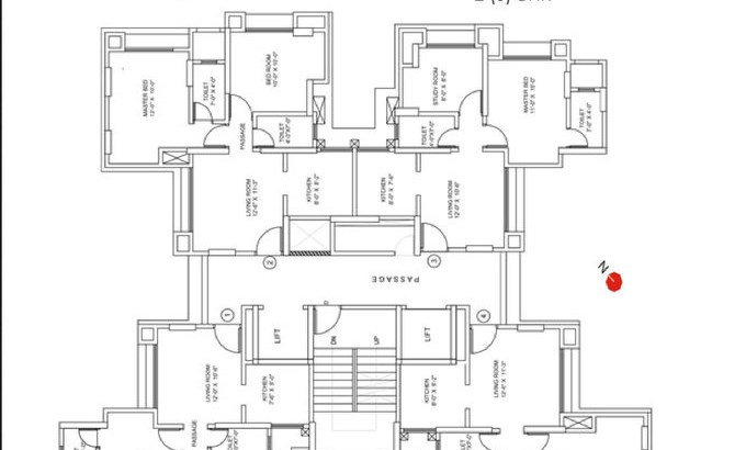 Runwal Garden City Floor Plan