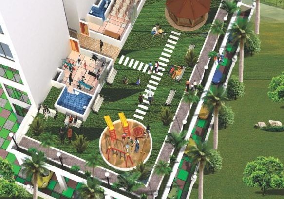 Krishna Tower Layout