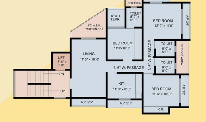 Shankeshwar Kingston Floor Plan