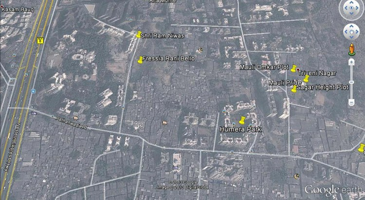 Sagar Height Google Earth