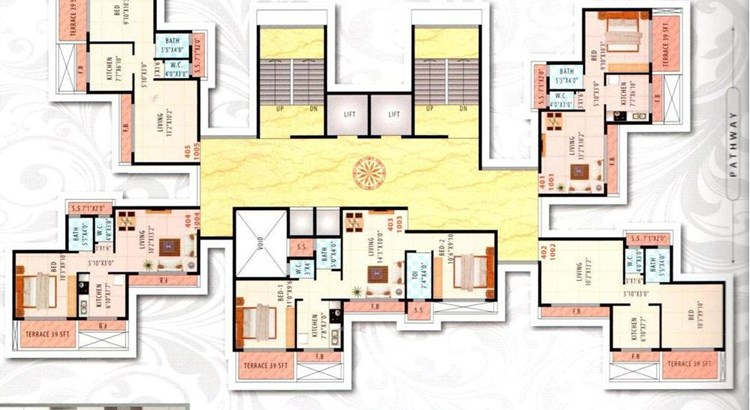 Mahavir Residency Floor Plan