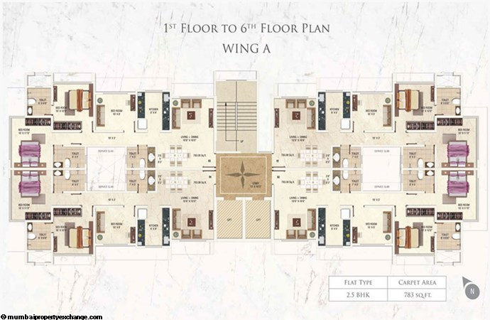 Prayog A wing 1-6th Floor