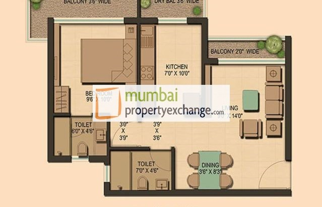 Prasadam Floor Plan
