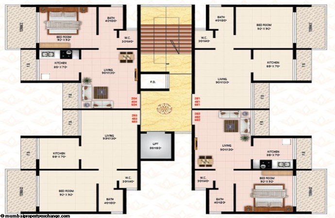 Today Kalash Floor Plan