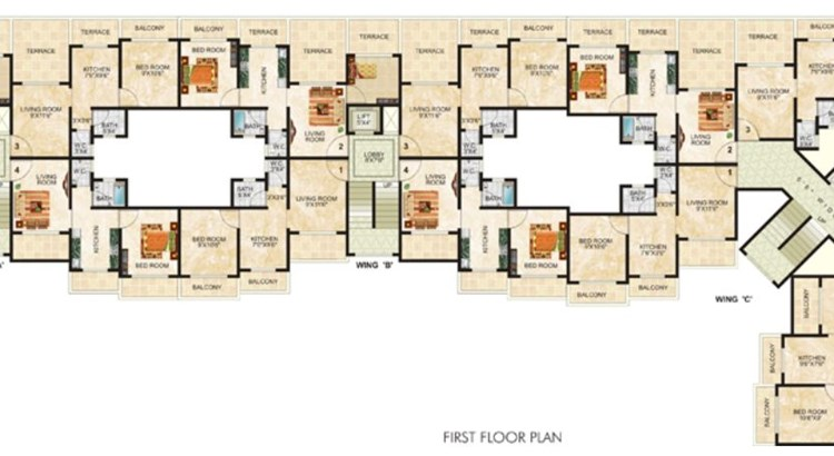 Tulsi Sanidhya Floor Plan