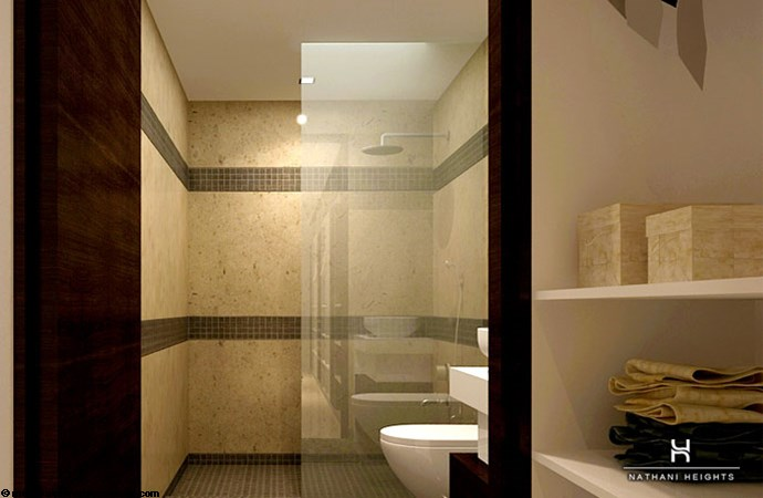 Nathani Heights Nathani Heights Master Bathroom