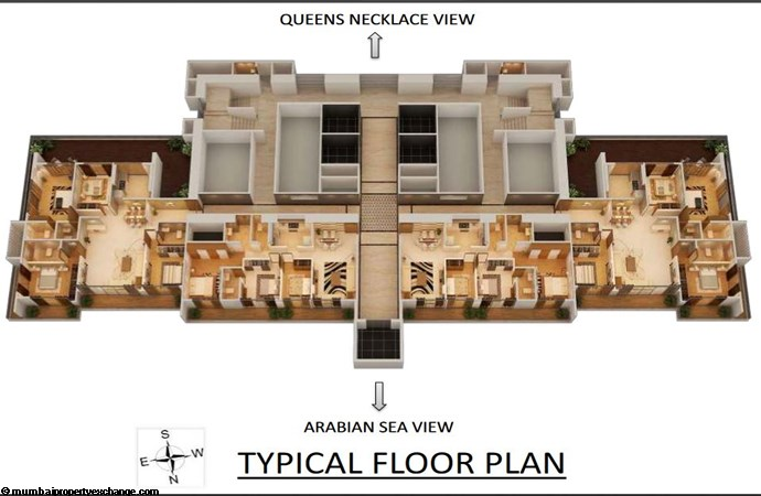 Nathani Heights Nathani Heights Typical Floor Plan 1