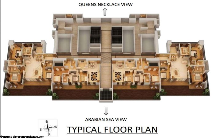 Nathani Heights Nathani Heights Typical Floor Plan 2