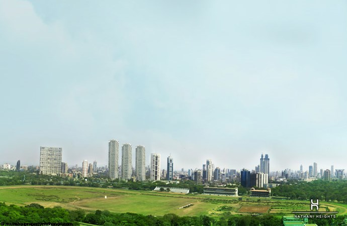 Nathani Heights View of Mahalaxmi Race Course
