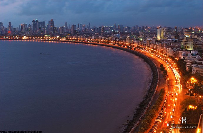 Nathani Heights View of Marine Drive
