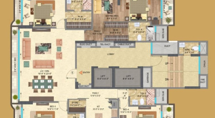 Mayfair Serene Floor Plan