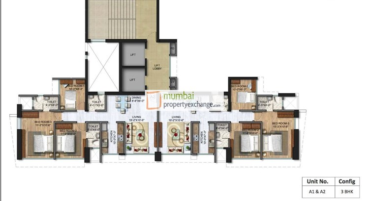 Sunteck City Avenue II Floor Plan
