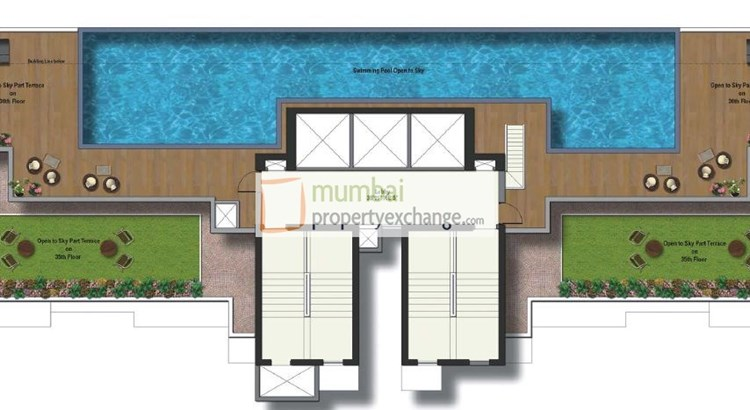 Raheja Reflections Odyssey Floor Plan