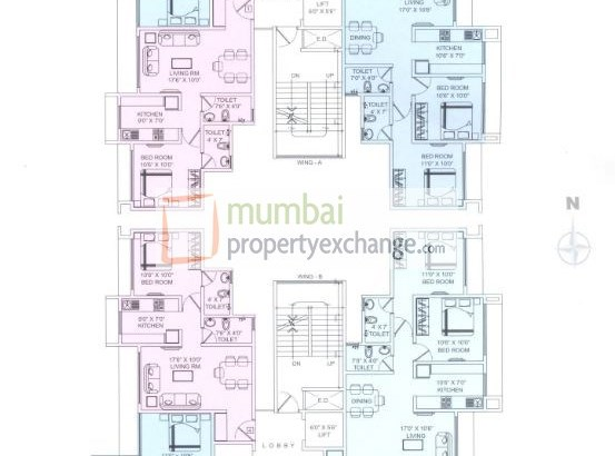 Galaxy Pinnacle Floor Plan