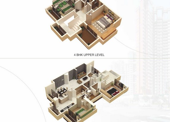 Universal Greens Floor Plan
