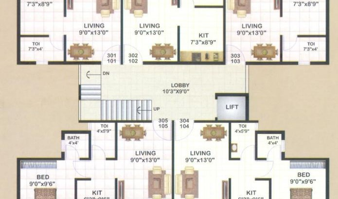 Navdurga Floor Plan