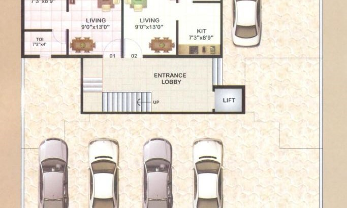 Navdurga Gr. floor Plan