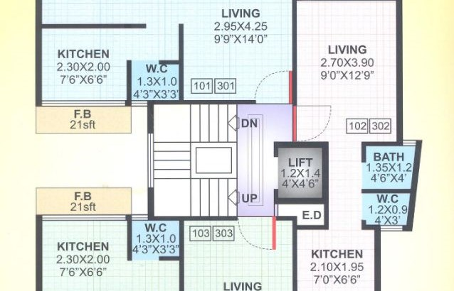 Bright Silver Floor Plan