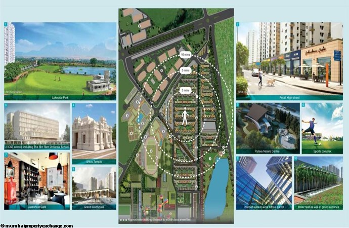 Lodha Lakeshore Greens Connectivity To Amenities