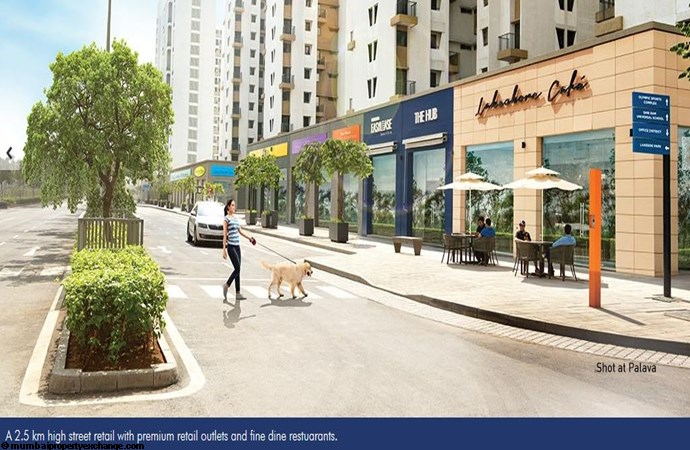 Lodha Lakeshore Greens Lakeshore Retail Space