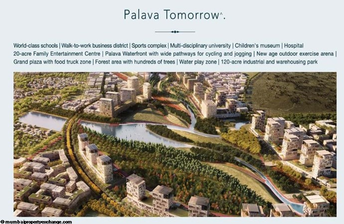 Lodha Lakeshore Greens Palava Tomorrow