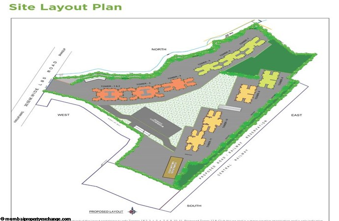 Runwal Forests Runwal Forests Site Layout