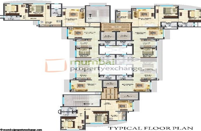 Crescent Residency Typical Floor Plan