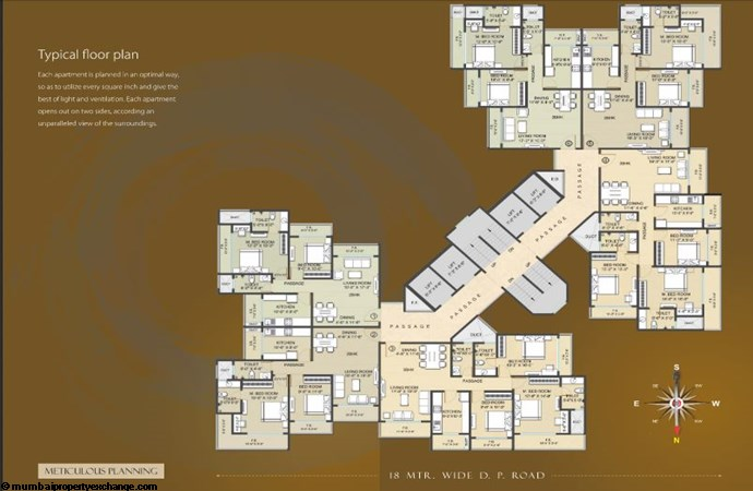 Ostwal Darshan Floor plan2