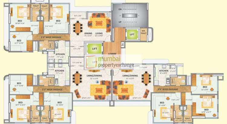 Rizvi Oak Floor Plan