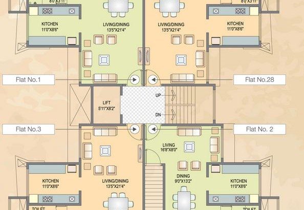 Snehdeep Floor Plan