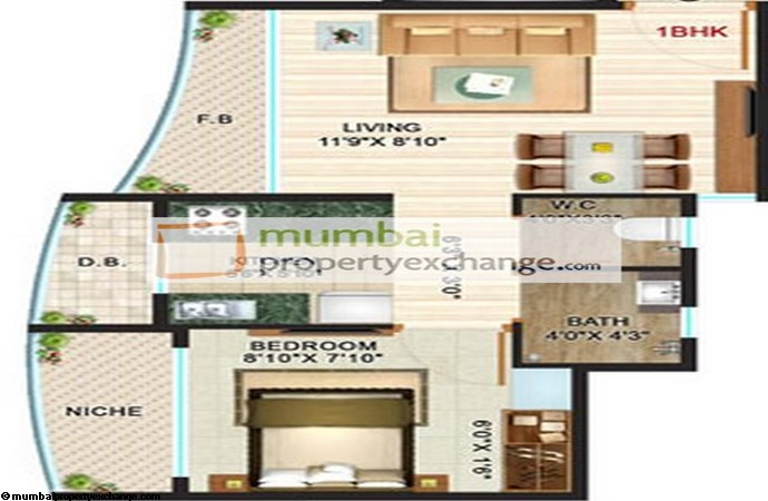 Ritu Dreams Floor plan