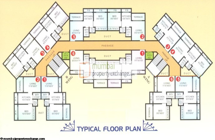 Ritu Dreams Floor plan 2