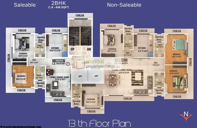 Pearly Shell Floor Plan