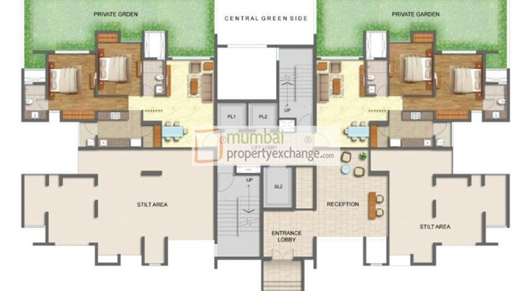 Lodha Luxuria Priva Floor Plan