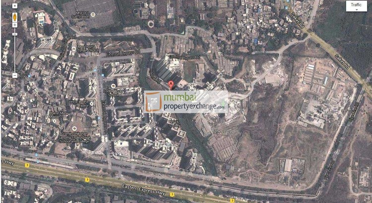 Lodha Luxuria Priva Google Map