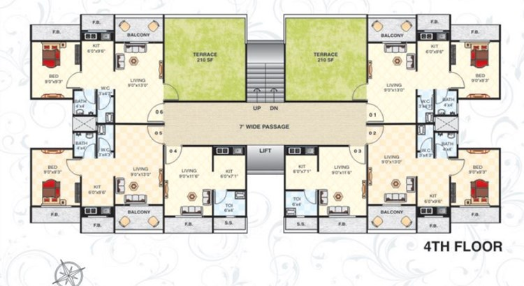 Tulip Plaza Floor Plan