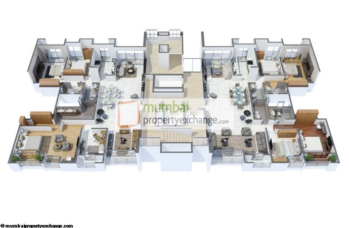 Sheth Avalon  Floor Plan