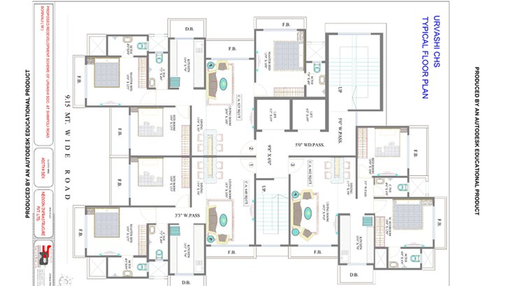 Urvashi CHS Floor Plan