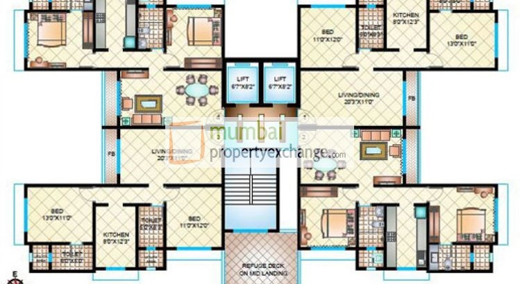 Shubham Solitude Floor Plan