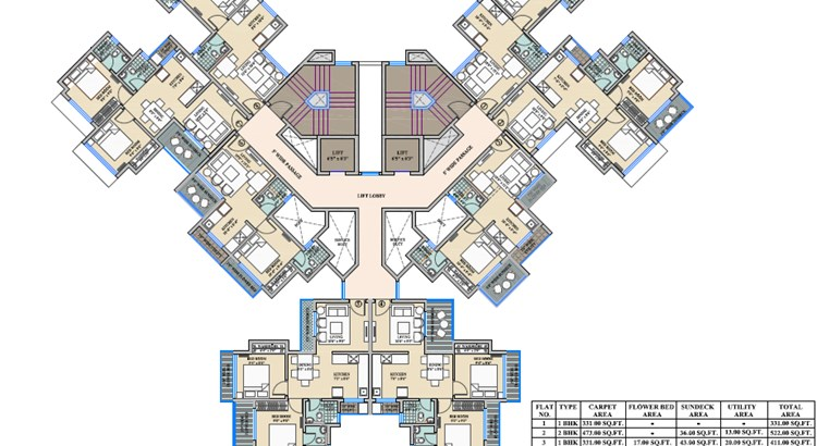 Colosseum Floor Plan