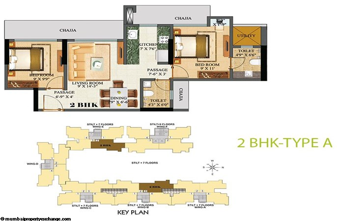 Sethia Green View 2BHK A