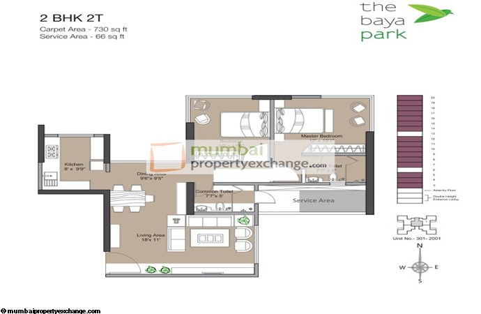 The Baya Park Floor plan
