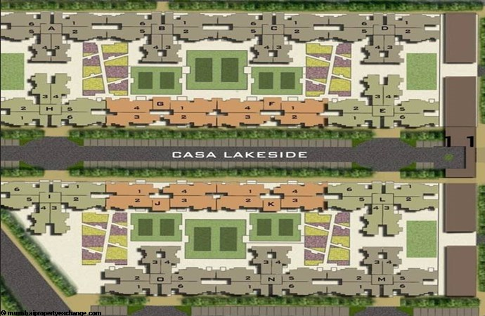 Casa Lakeside Lay Out