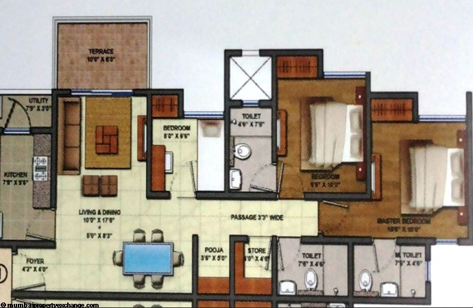 Casa Regalia FLoor Plan