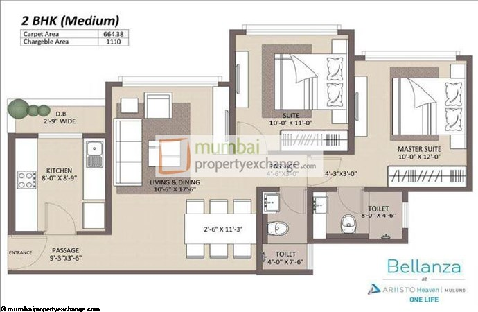 Ariisto Bellanza 2BHK M