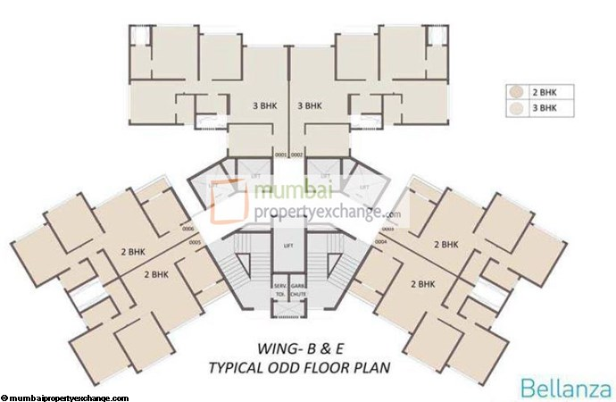 Ariisto Bellanza Floor Plan II