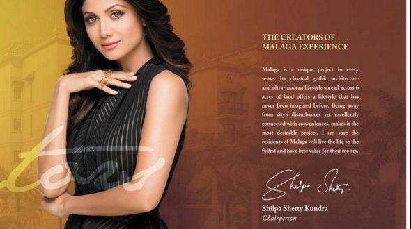 Shilpa Shetty to Launch Project Malaga, Panvel